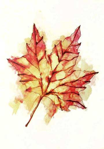 Gavin Dobson | Autumn Leaf | Art prints | Modern & Contemporary Art and Interiors