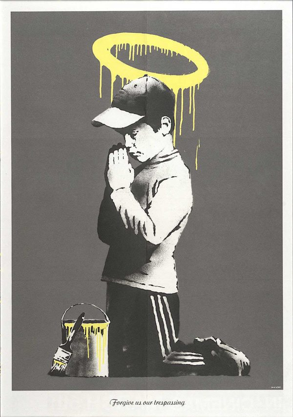 Banksy - Forgive Us Our Tresspassing | Contemporary Art & Design | Fine Art & Limited Editions | Interior Design
