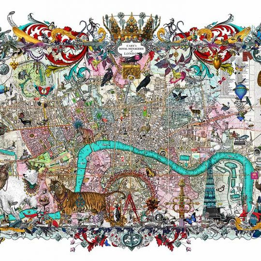 Kristjana S Williams |Royal Menagerie - Cary's London | Artist | Art prints | Modern & Contemporary Art and Interiors