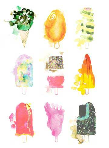 Gavin Dobson | Ices That Are Nicest | Art prints | Modern & Contemporary Art and Interiors