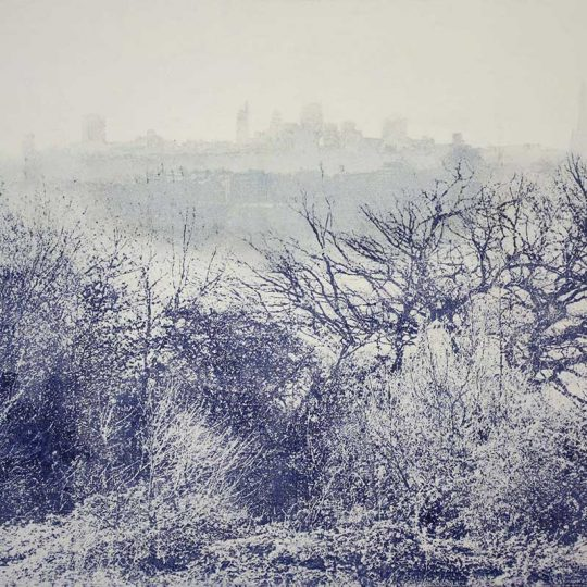 Marianne Nix |Ephemeral – London from Parliament Hill Fine Art Print | Fine Art & Contemporary Prints | Books | Painting