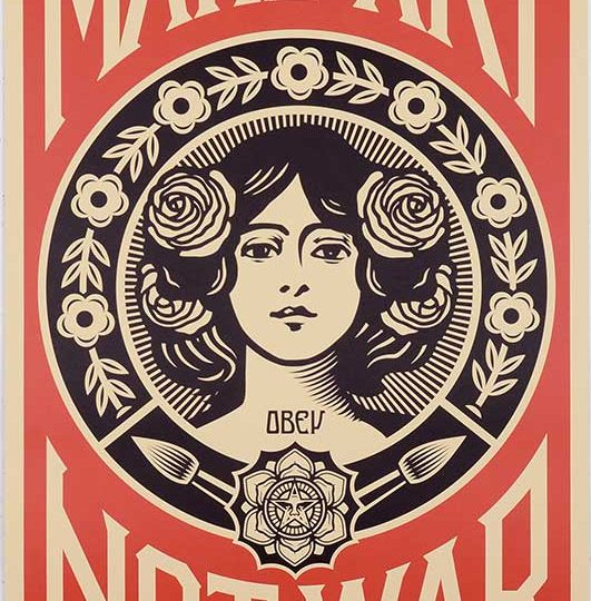 Shepard Fairey | Obey | Target Exceptions | Fine Art & Contemporary Prints | Books | Painting