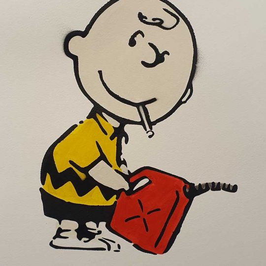 Mrs Banksy | Charlie Brown | Fine Art & Contemporary Prints | Books | Painting