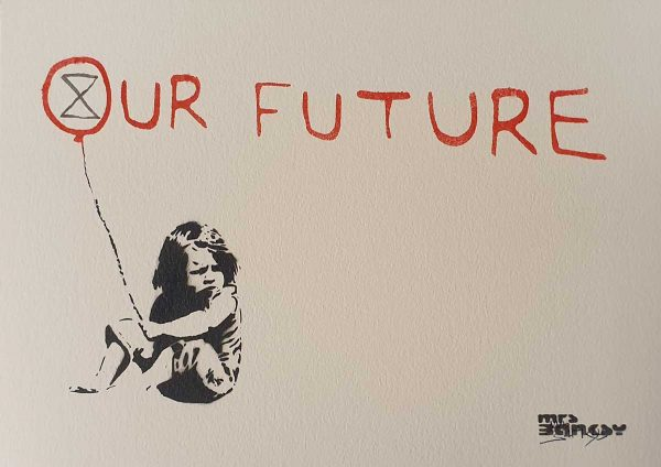 Mrs Banksy | Our Future | Fine Art & Contemporary Prints | Books | Painting