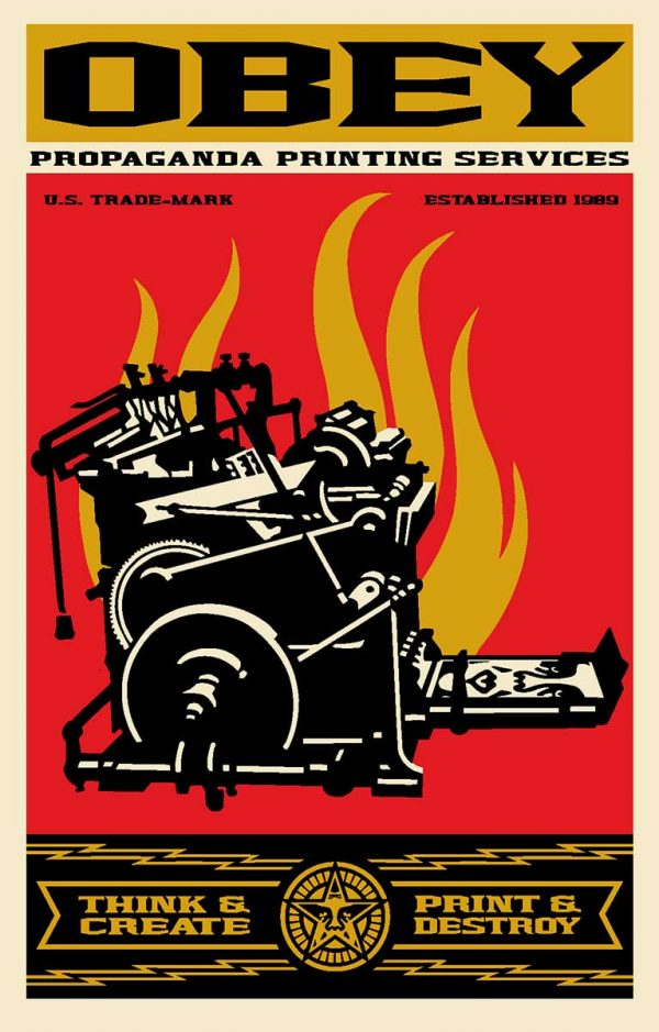 Shepard Fairey | Obey | Print and Destroy| Fine Art & Contemporary Prints | Books | Painting