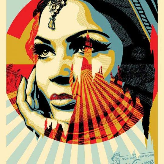 Shepard Fairey   Obey   Target Exceptions   Fine Art & Contemporary Prints   Books   Painting